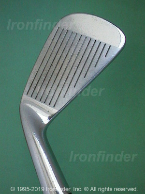 Face side of Cleveland Tour Action TA1 Form Forged Irons head