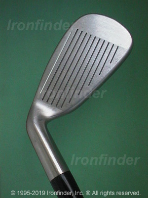 Face side of Cleveland Tour Action TA5 Irons head