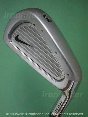 Back side of Nike Pro Combo Irons head - the 