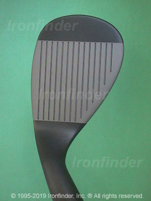 Face side of Cleveland Tour Action 900 Form FORGED (gun metal) Irons head