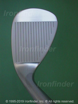 Face side of Cleveland Tour Action Reg. 588 TSC (satin) Irons head