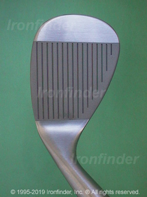 Face side of Cleveland Tour Action Reg. 588 RTG (rust) Irons head