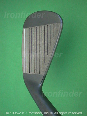 Face side of Cleveland Tour Action TA3 Form Forged Gun Metal Irons head