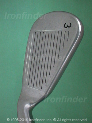 Face side of Callaway Steelhead X-16 Irons head