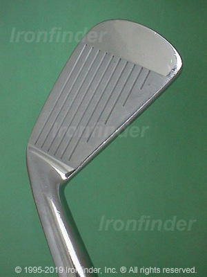 Face side of Mizuno MS-9 Irons head
