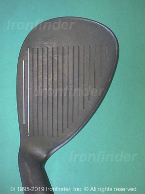 Face side of Callaway Big Bertha Gold Tour Series Wedges Irons head
