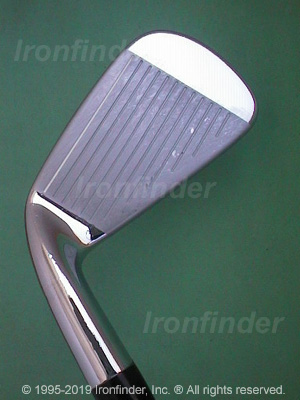 Face side of Cleveland Tour Action TA2 Irons head