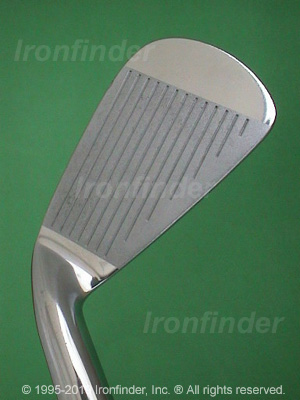 Face side of MacGregor Tourney Forged PCB Irons head