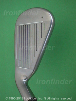 Face side of Callaway SteelHead X-16 Pro Series Irons head
