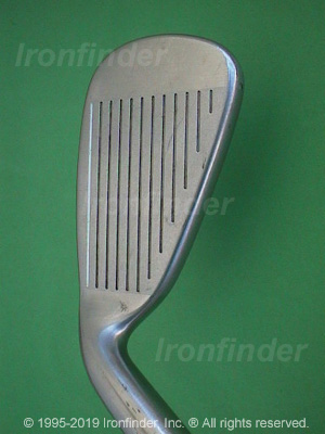 Face side of Cleveland Tour Action TA6 Irons head