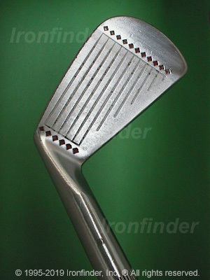 Face side of MacGregor SILVER SCOT MODEL 925 Irons head