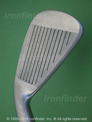 Face side of Cleveland CG2 Irons head