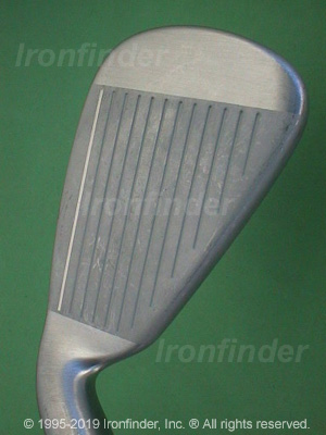 Face side of Cleveland CG4 Irons head