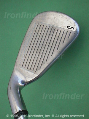 Face side of Callaway X-18 Irons head