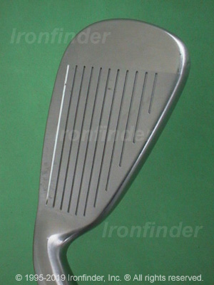 Face side of Cleveland Launcher LP Irons head