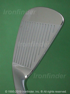 Face side of Nike procombo OS Forged Irons head
