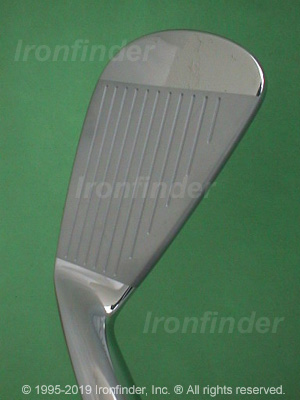 Face side of Mizuno MP-60 Irons head