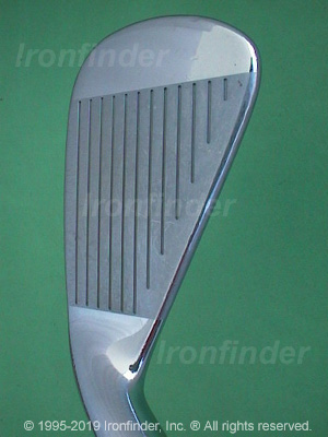 Face side of Cleveland CG1 Irons head