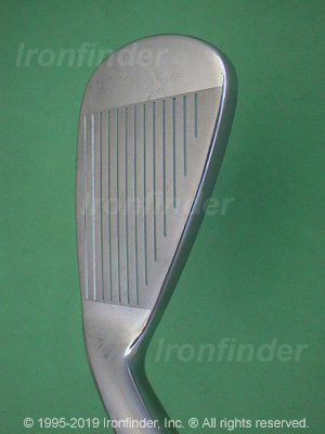 Face side of Nike NDS Irons head