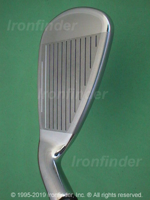 Face side of Callaway Big Bertha FUSION Irons head