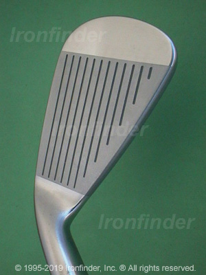 Face side of Mizuno MX-25 Irons head