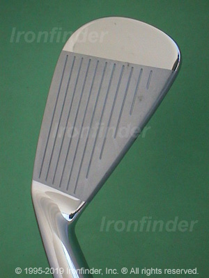 Face side of Mizuno MP-67 Irons head