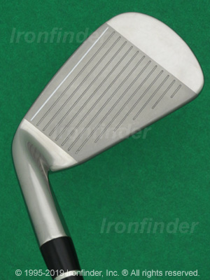 Face side of Nike CCi (cast) Irons head