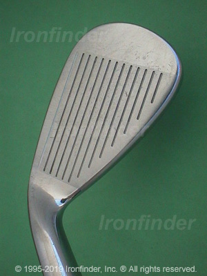 Face side of Nike Ignite Irons head