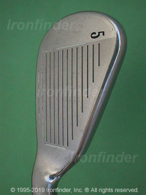 Face side of Callaway Big Bertha Gems Irons head