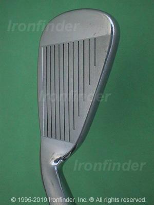 Face side of Cleveland CG Gold Irons head