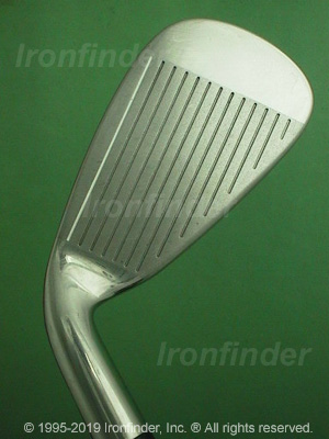 Face side of Cleveland Launcher W Series Irons head