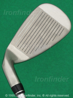 Face side of Callaway FUSION Wide Sole Irons head