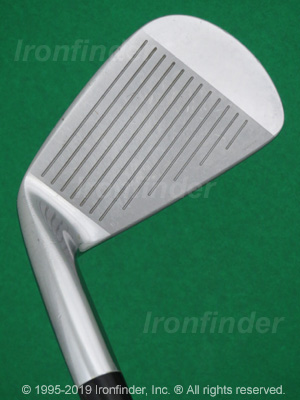 Face side of Mizuno MP-57 Irons head