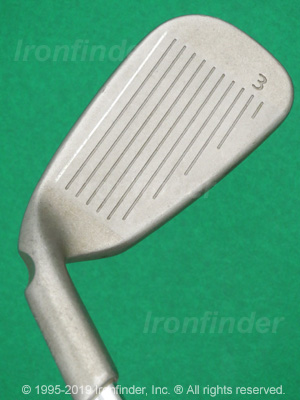 Face side of Ping G2 HL Irons head