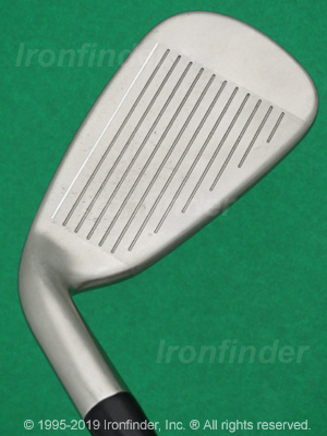 Face side of Cleveland Tour Action TA6 W-Series Irons head