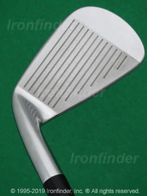 Face side of Mizuno MP-52 Irons head