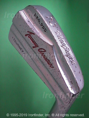 Back side of MacGregor Tommy Armour (TOURNEY) Rec. 985 Irons head - the 
