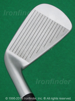 Face side of MacGregor MacTec M685 Forged Irons head