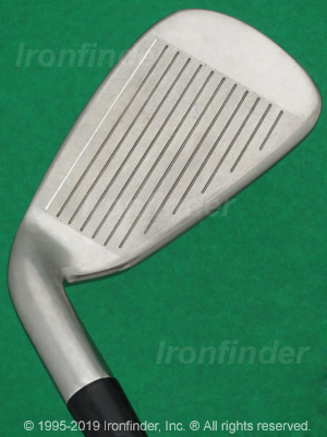 Face side of Cleveland CG7 Irons head