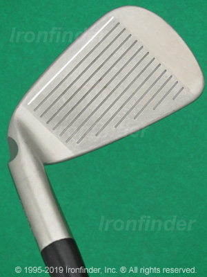 Face side of Ping S58 Irons head