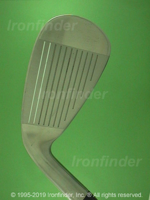Face side of Nike CPR (2) Irons head