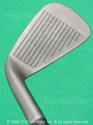 Face side of Cleveland CG1 Black Pearl Irons head