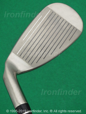 Face side of Callaway FT i-brid Irons head