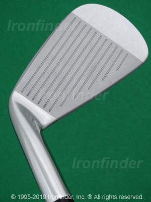 Face side of Mizuno MP-62 Irons head