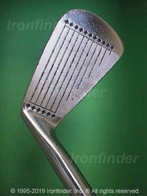 Face side of MacGregor DX Tourney DX1 Irons head