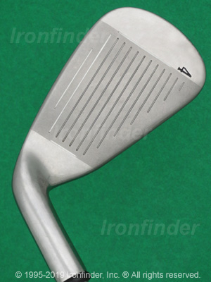 Face side of Callaway X-18R Irons head