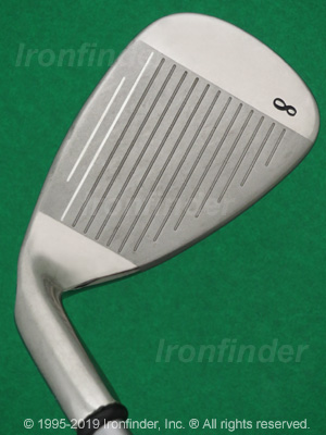 Face side of Callaway Big Bertha 08 Ladies Irons head