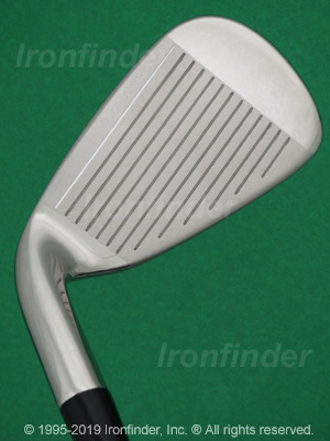 Face side of Cleveland Launcher (black-chrome cavity) Irons head