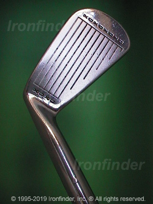 Face side of MacGregor DX TOURNEY DXR1 Irons head