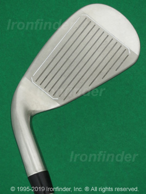 Face side of Nike SQ MACHSPEED Irons head